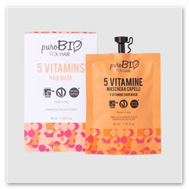5 Vitamins Hair Mask
